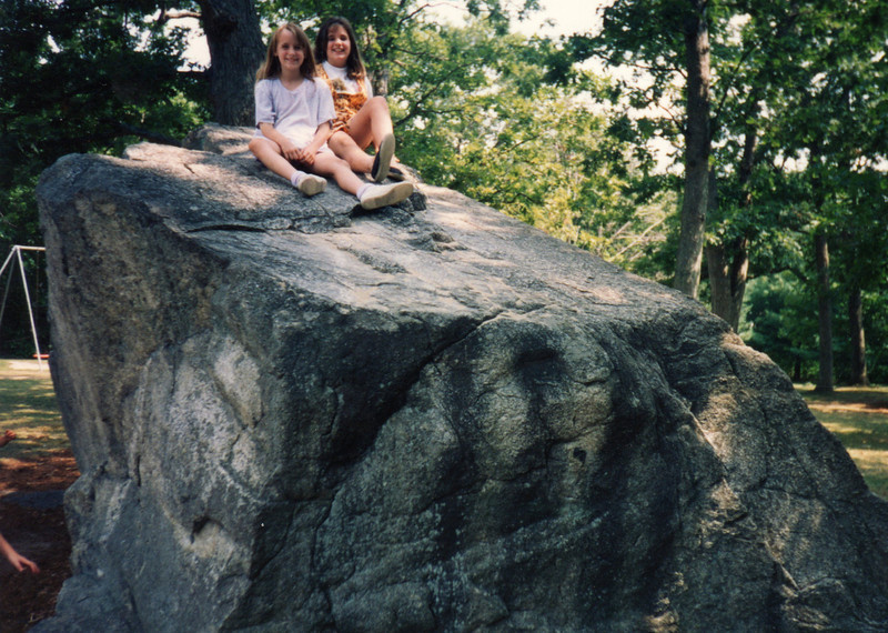 1995 Katie & Kerrie at Herring Run