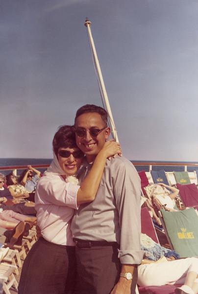 Bess and Joe on Cruise