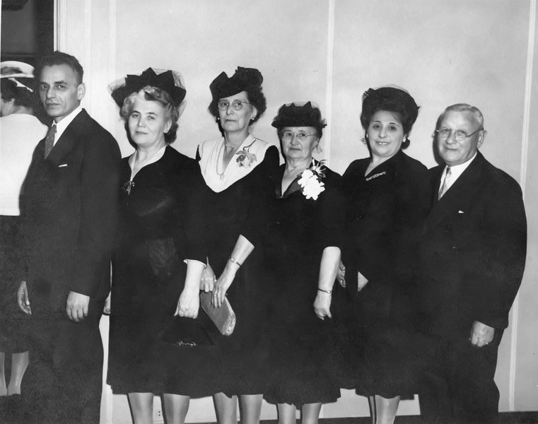Fred, Ida, Unknown, Sarah Rosenstein, Mollie, Ike Rosenstein