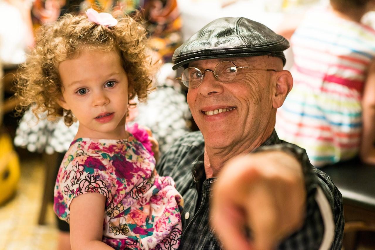 Heather Mann Father 70th Birthday