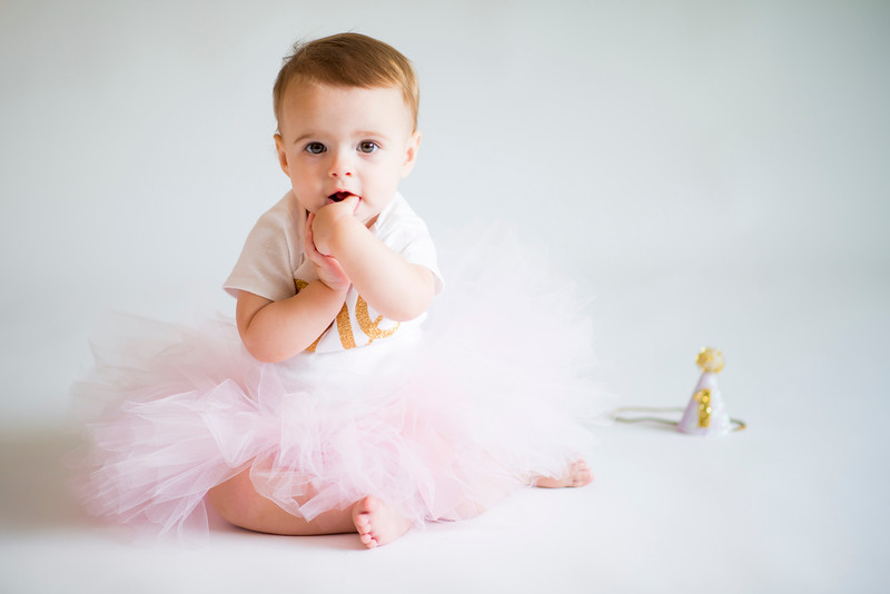 Scarlett Wren First Birthday Photo Shoot