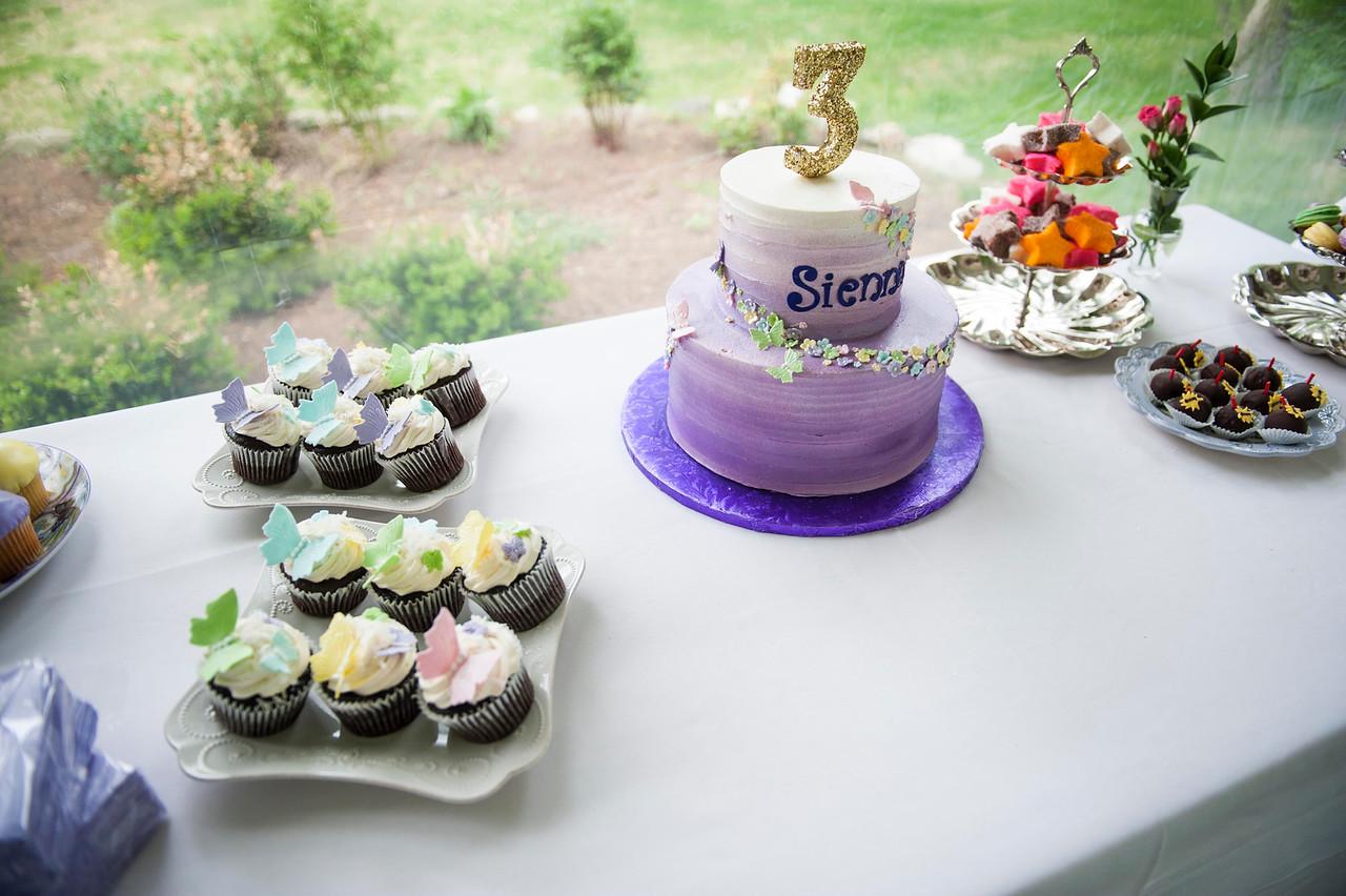 Sienna Wren Third Birthday
