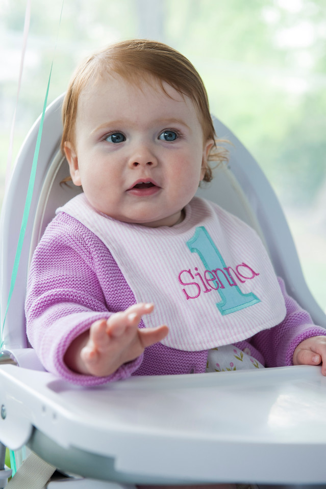 Sienna First Birthday
