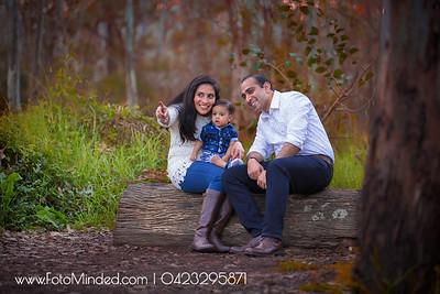 Gokul Vidya Rishaan Family Shoot