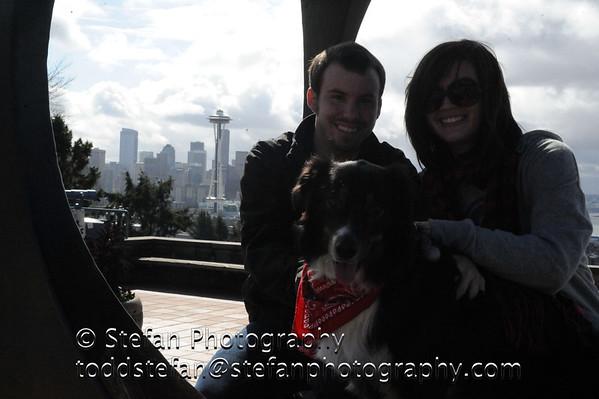 04-01-2012 Kerry Park - Amber & Max