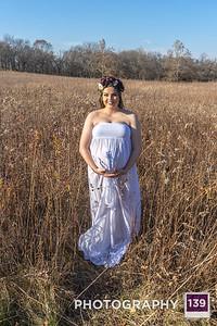 Alexis Pregnant with Anela