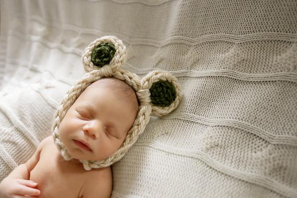 Baby Xavier Newborn Session