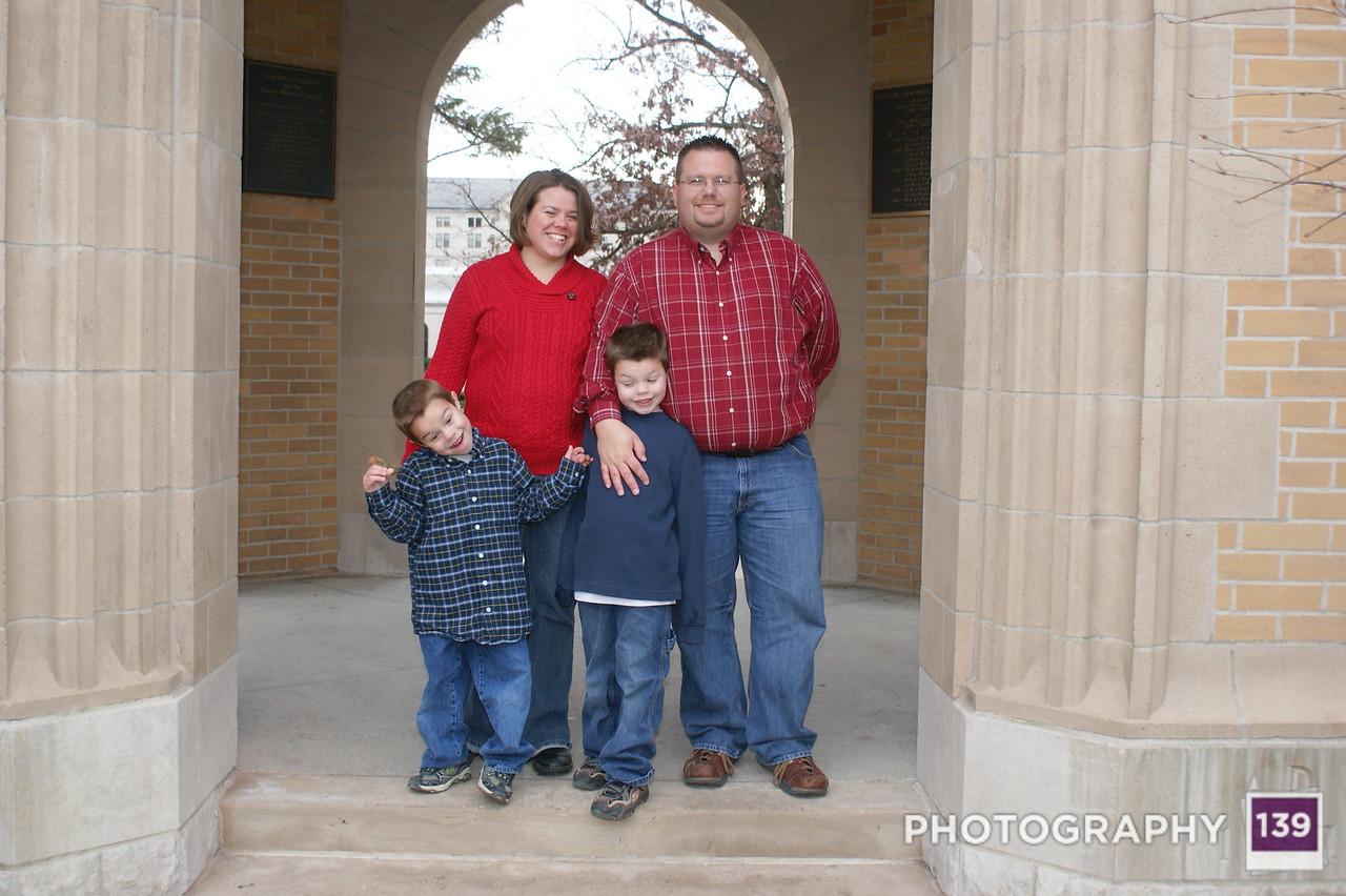 Baier Family Photo Shoot - 2010
