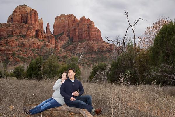 Sedona Maternity Photo Shoot