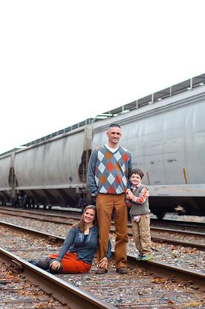 Cushman Family November 2012