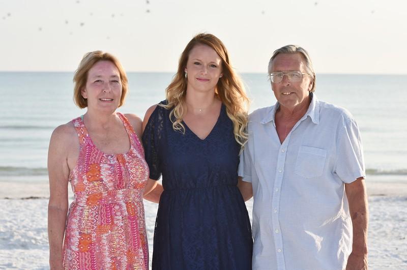 Family photo session at Siesta Key Beach, FL