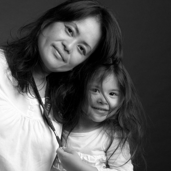 Black and white mother and child portrait by Jeanne McRight, Pix Photography