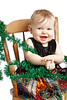 Holiday baby portrait by Jeanne McRight, Pix Photography