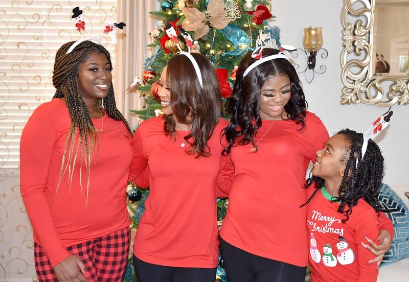 Family Christmas Photo Session