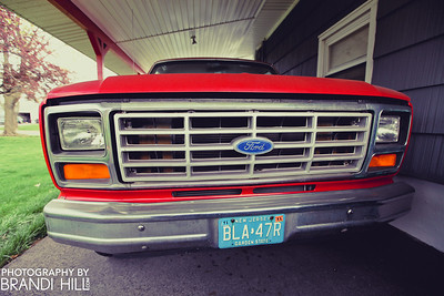 """Mr. """"Tony"""" Calabrese's truck."""