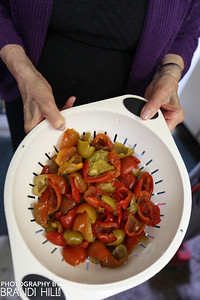 These peppers were harvested by the late Tony Calabrese in August 2013.