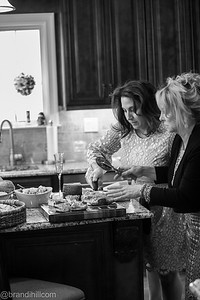 Candids of luncheon at Lucas' House