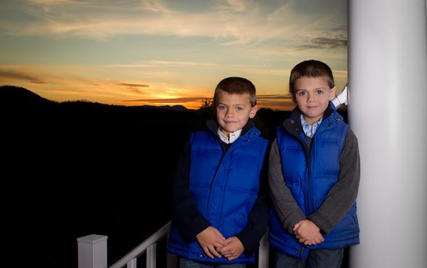 Milliron Boys - Christmas 2011