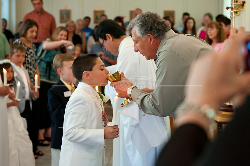 My Frist Communion and family session.