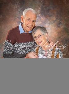 Nan Grandad and Baby