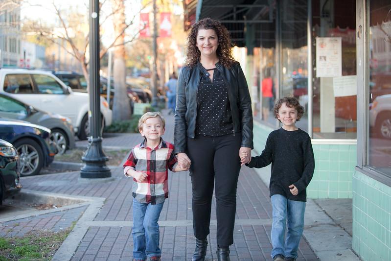 Sara, Gavin and Teddy