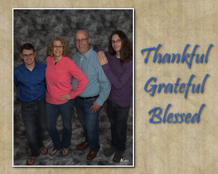 Thank grate bless 8x10