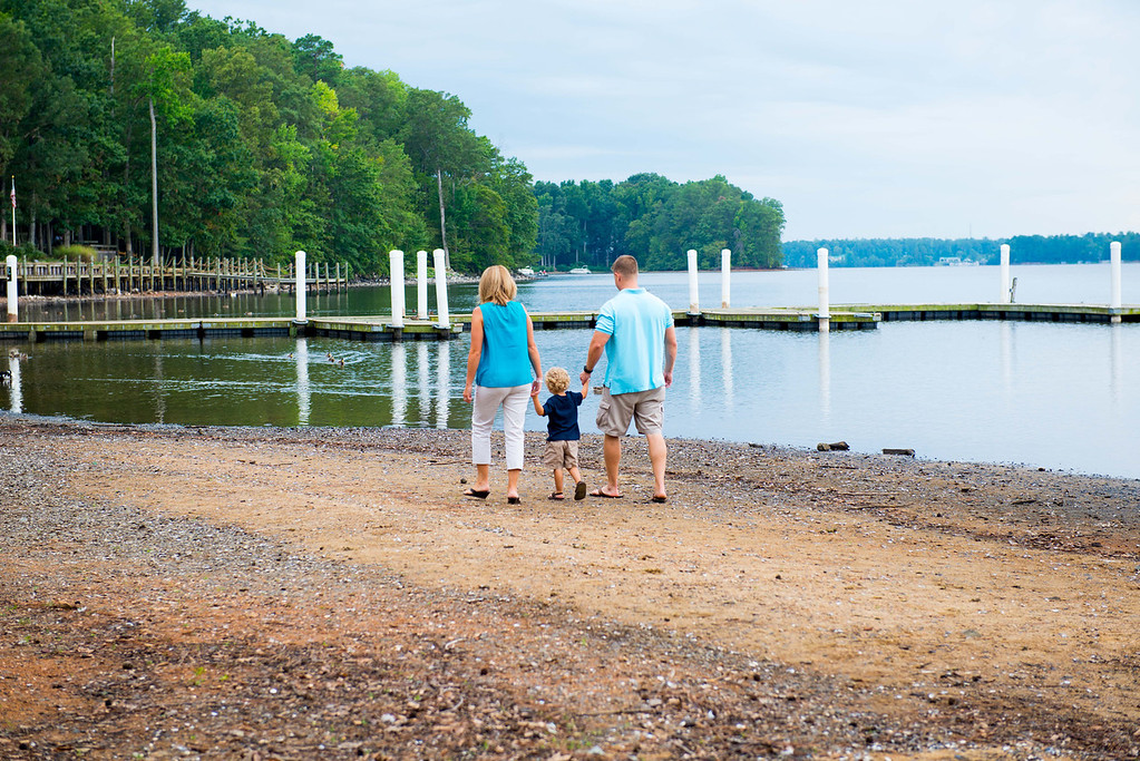 A family portrait at Sunday Park in Chesterfield, Virginia
