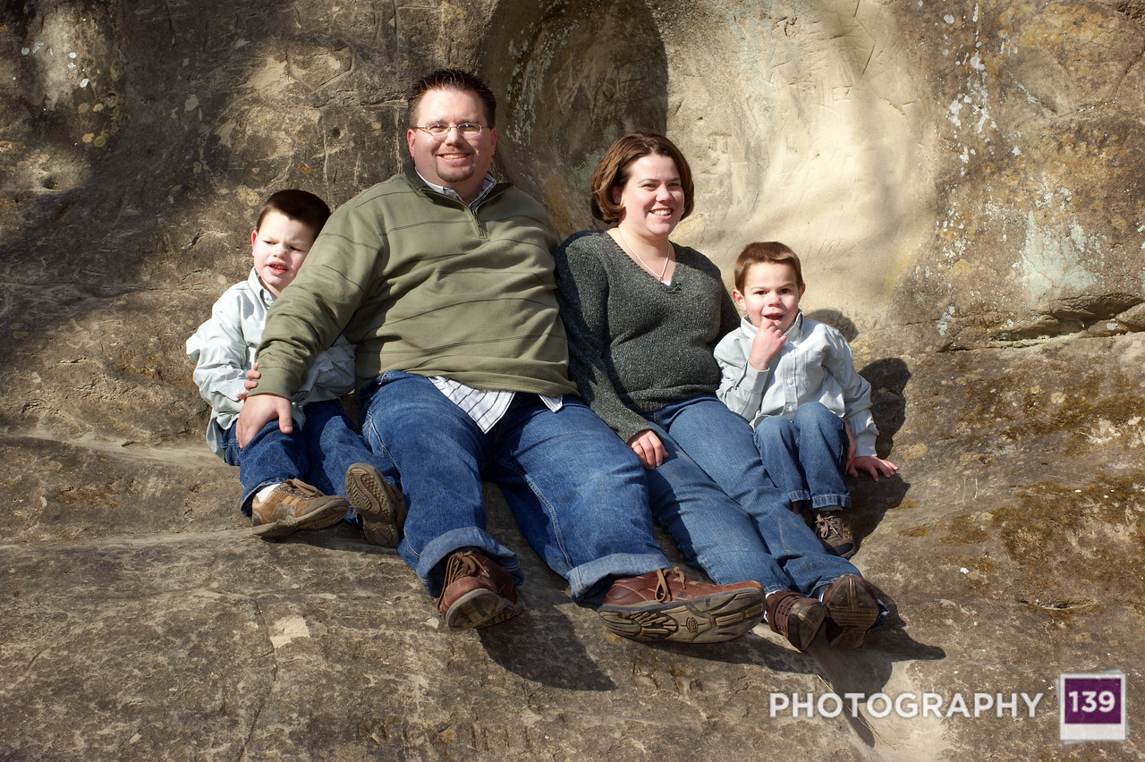 Baier Family Photo Shoot - 2009