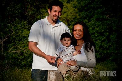 Vicki, Kris and Kaeson April 09