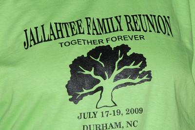 Jallah Family Reunioun 2009