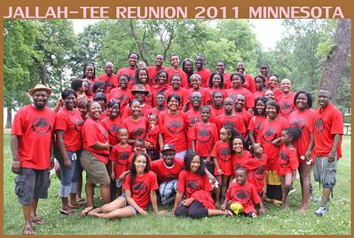 JallahTee Family Reunion Minnesota 2011