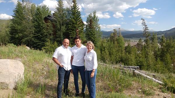 Family Portrait Colorado Family Trip