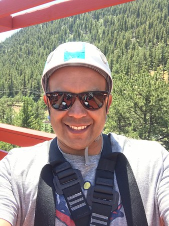 Zip lining colorado family trip 2017