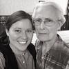 Brooke Litke and Charlene Stevens Litke (granddaughter and grandmother)