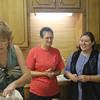 Charlotte Wilson, Jackie Pearson Parkhill and Brooke Litke