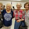 Joyce Lynn Sadler Winter, Jane Shewmaker Hale, Chock Stevens Litke and Dot Pearson Litke