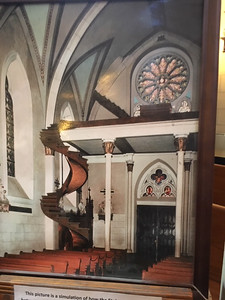 Original Church Staircase