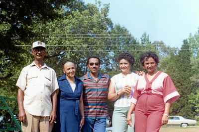 Holliday Family Reunion 1977.