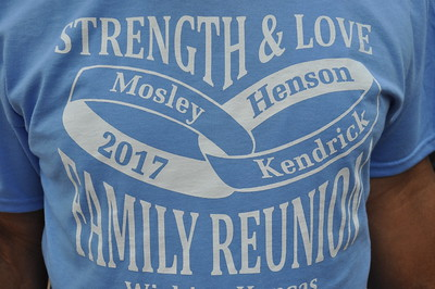 Strenght & Love Mosley, Henson, Kendrick Family Reunion Sept  2, 2017