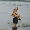 Ryan baptized by Joe White at Kanakuk