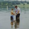 Ryan is baptized by Joe White at Kanakuk Kamp