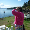Heather at Doe Bay.