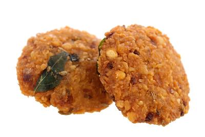 Crispy deep fired vadai snacks