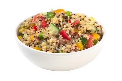 Delicious vegetarian quinoa salad