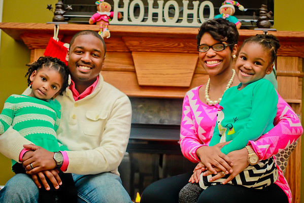 The Mitchell's christmas shoot