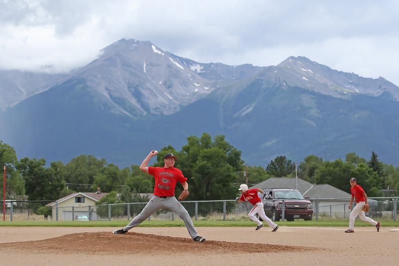 Austin and Cole McCaw Ignacio High School Baseball Summer Tournament Buena Vista Colorado July 16-19, 2015