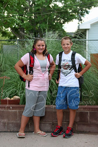 2008 First Day of School.