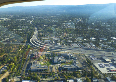 Highway 101 and 85 interchange.
