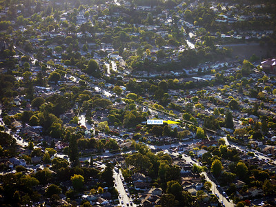 Our neighborhood in San Carlos, CA.