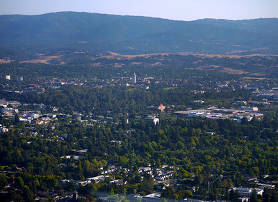 Stanford campus and vicinity, Palo Alto, CA.